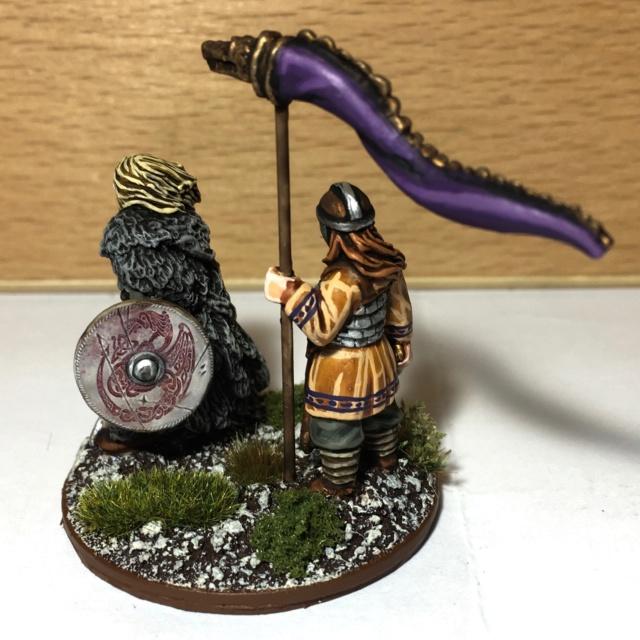 [SAGA] Quelques figurines pour l'Age des Vikings !  Seigne10
