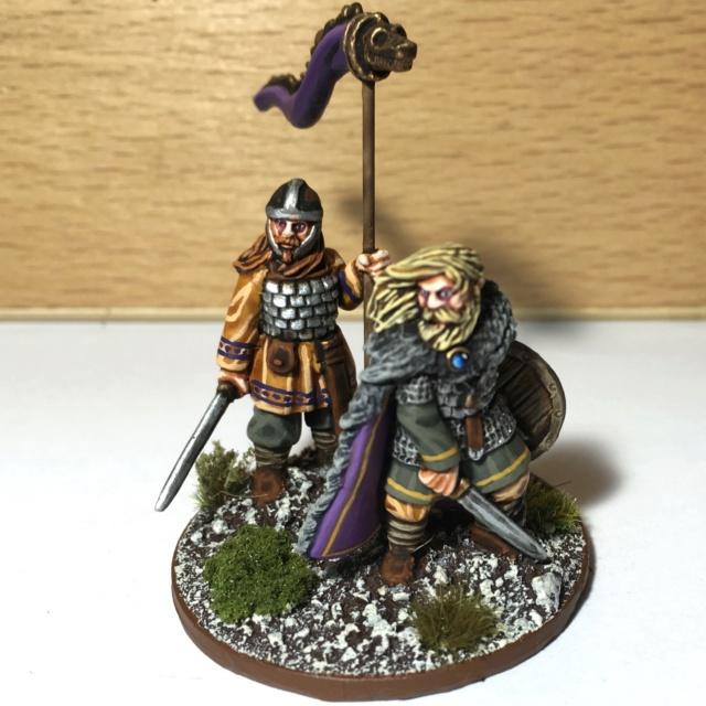 [SAGA] Quelques figurines pour l'Age des Vikings !  Seigne11