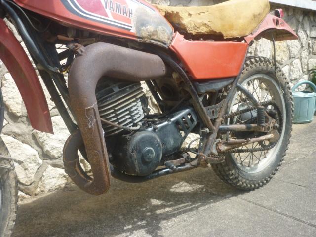 Yamaha 250 dtmx flat track ou scrambler P1160112
