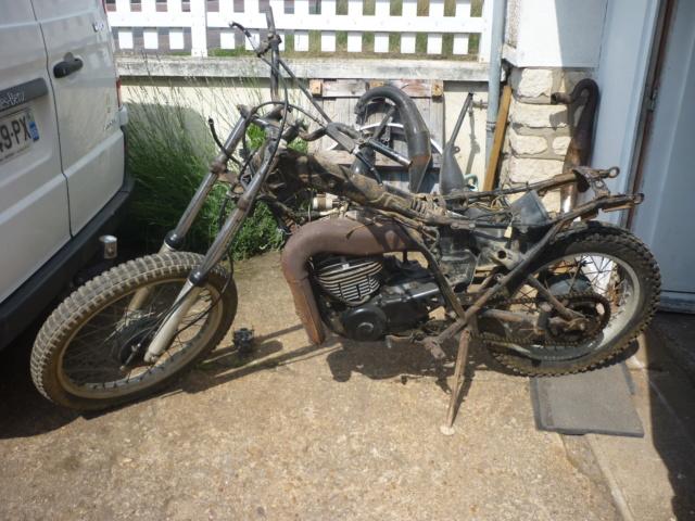 Yamaha 250 dtmx flat track ou scrambler P1170113