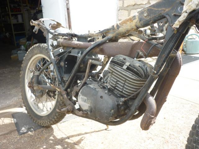 Yamaha 250 dtmx flat track ou scrambler P1170114