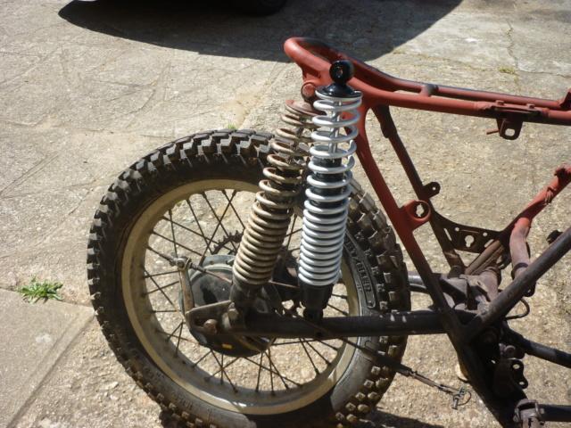 Yamaha 250 dtmx flat track ou scrambler P1170117