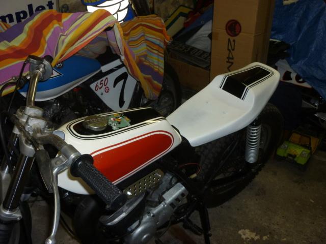Yamaha 250 dtmx flat track ou scrambler P1170220