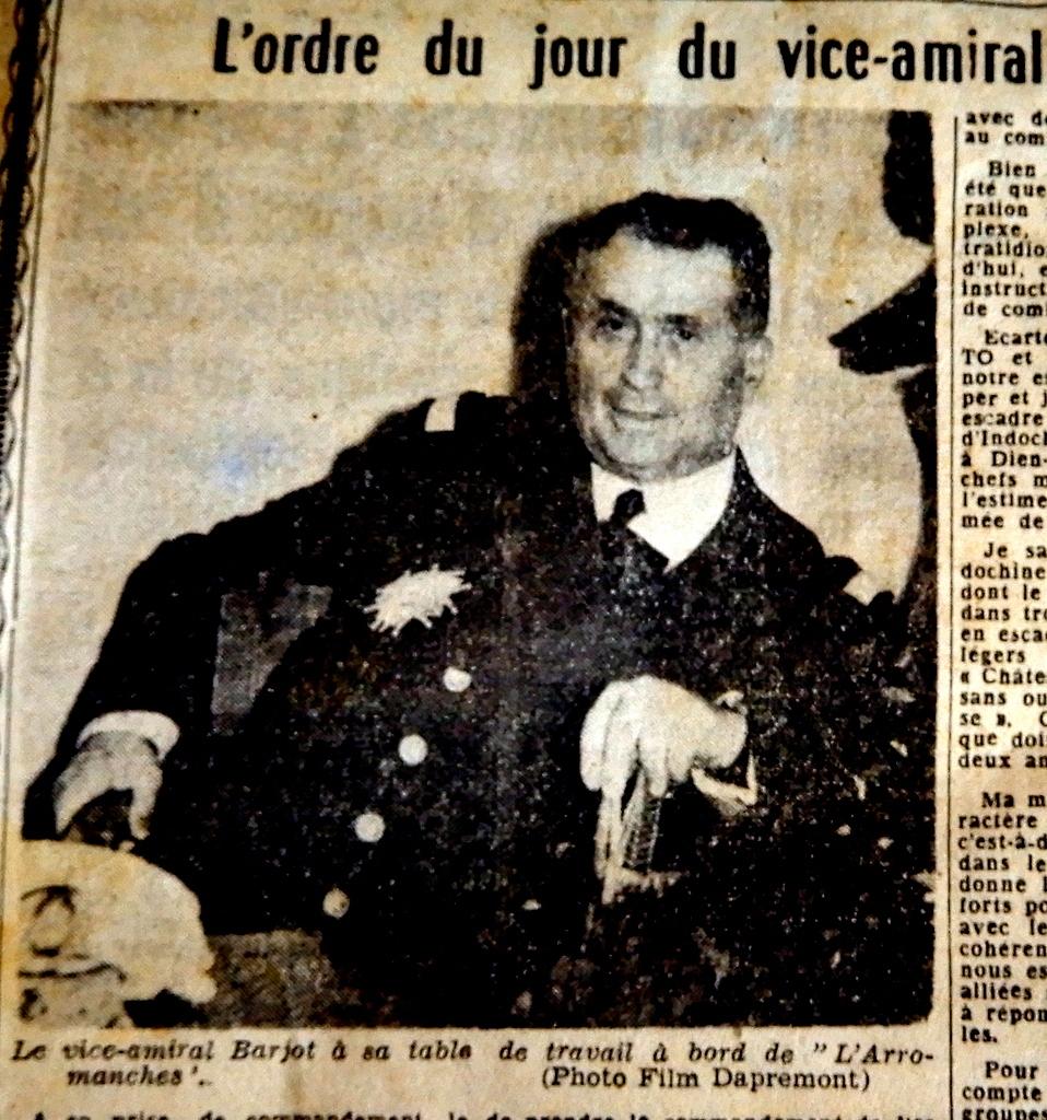 Carnet de Campagne de l'Arromanches 1953/1954 - Page 4 Insign14
