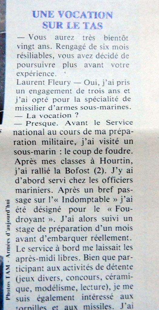 LE REDOUTABLE (SNLE) (Sous surveillance spéciale) - Page 30 Redout12