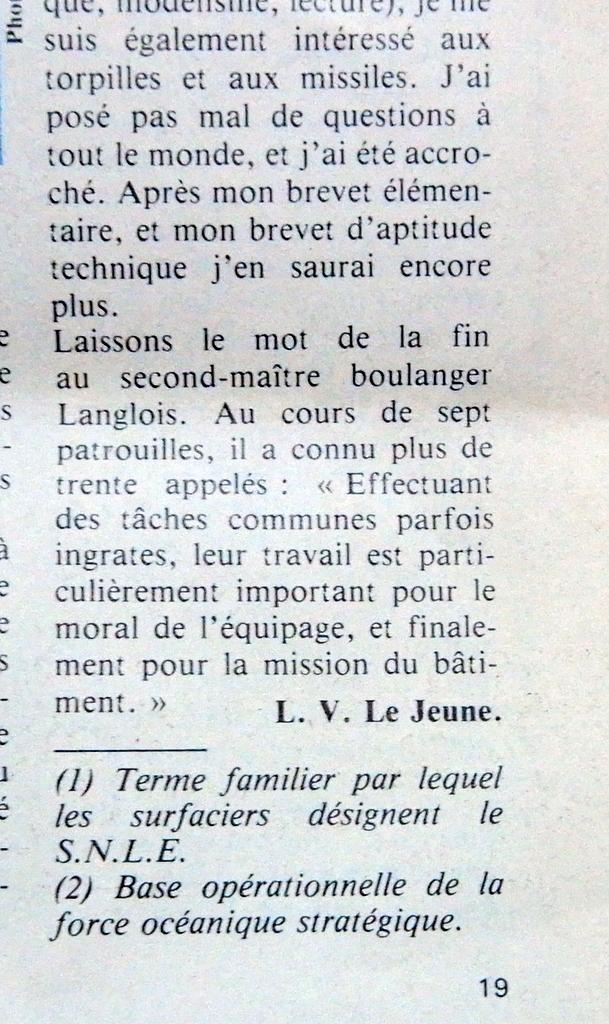 LE REDOUTABLE (SNLE) (Sous surveillance spéciale) - Page 30 Redout13
