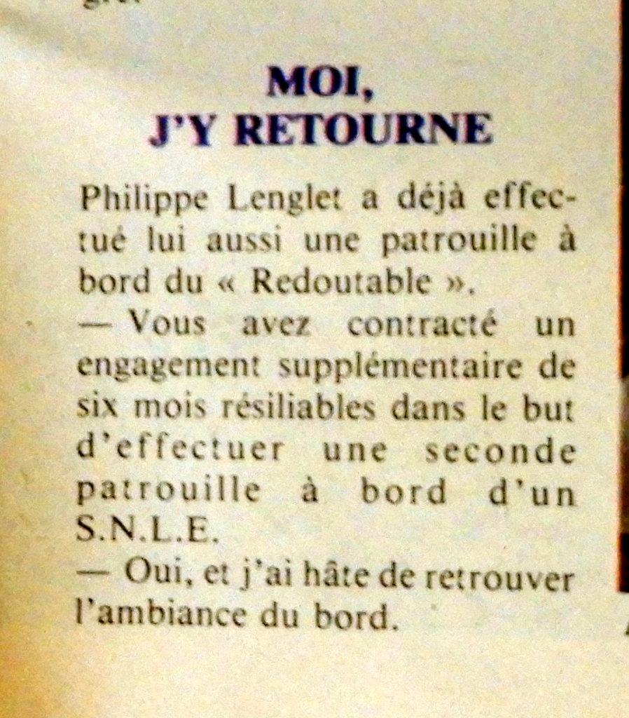 LE REDOUTABLE (SNLE) (Sous surveillance spéciale) - Page 30 Soleil23