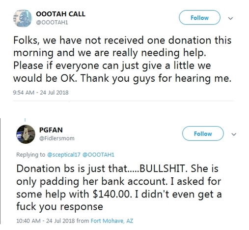 Becky McGee/Oootah Beg-A-Thon - CALL CANCELLED!  7/25/18 2018-019