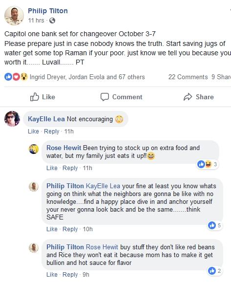 Philip Tilton - Stock Up On RAMAN!  9/15/18 2018-155