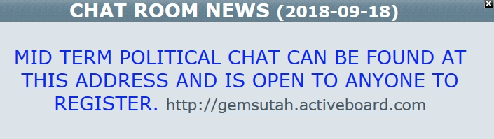 ~BREAKING~ AdminBill Opens a SECOND Chat Room!!!  9/18/18 2018-168