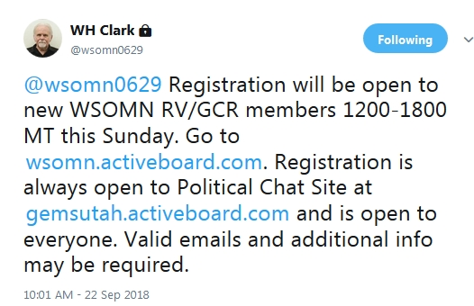 AdminBill Opens WSOMN To New Members!  9/22/18 2018-181