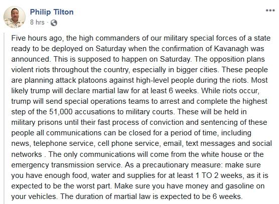 Philip Tilton -  10/6/18 2018-230