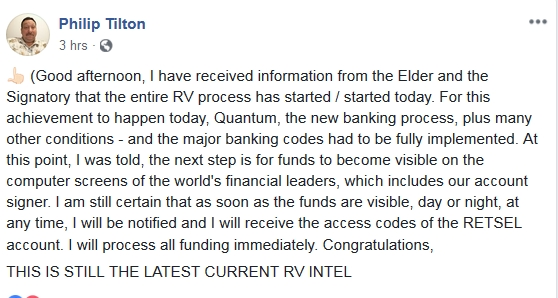 Philip Tilton - Latest RV Intel!  10/16/18 2018-263