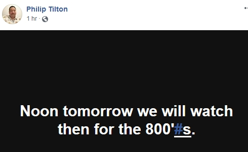 Philip Tilton - 800#'s Tomorrow?  10/23/18 2018-313