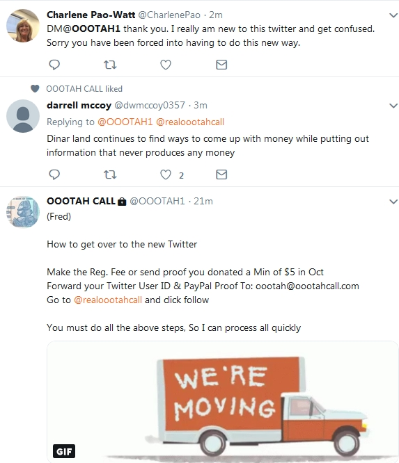 Becky McGee/Oootah - Followers Have HAD ENOUGH!   10/29/18 2018-368