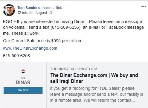 BGG Is A Dinar Dealer Now? 2018-385