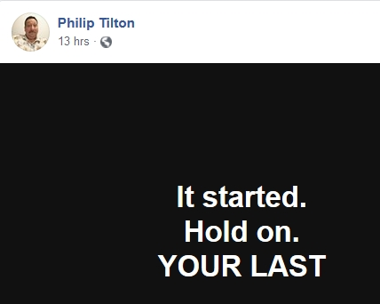 Philip Tilton - The Redemption Plan has Started!  10/31/18 2018-398