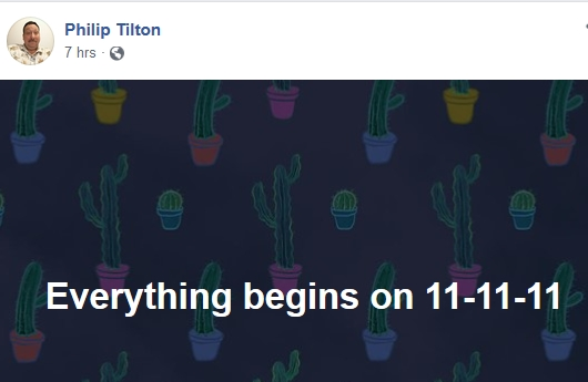 Philip Tilton - The Problem Should be Resolved Shortly!  11/5/18 2018-447