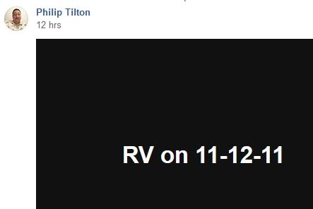 Philip Tilton - RV on 11/12/18!   11/7/18 2018-458