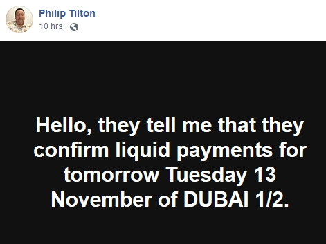 Philip Tilton is Becoming Skeptical!  11/12/18 2018-498