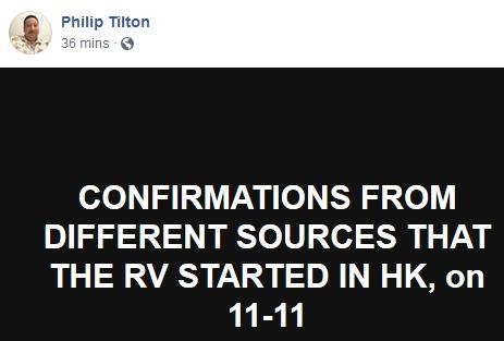 ~Breaking~  Philip Tilton - The RV Has Started!!!  11/13/18 2018-502