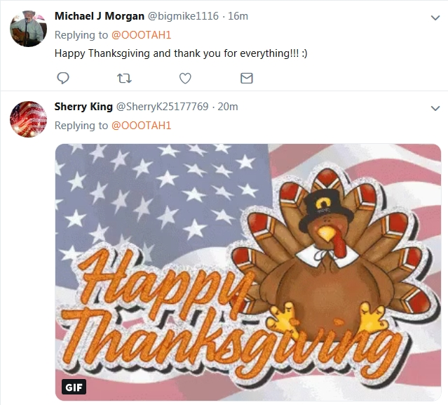 Becky McGee/Oootah 'Happy Thanksgiving' ~Updated~   11/22/18 2018-582