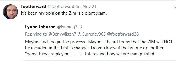Footforward ~Updated~ ZIM is a SCAM!  11/22/18 2018-592