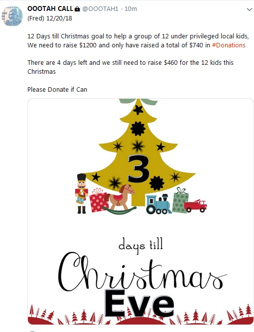 Becky McGee/Oootah Christmas Scam-A-Thon Continues!  12/20/18 2018-737
