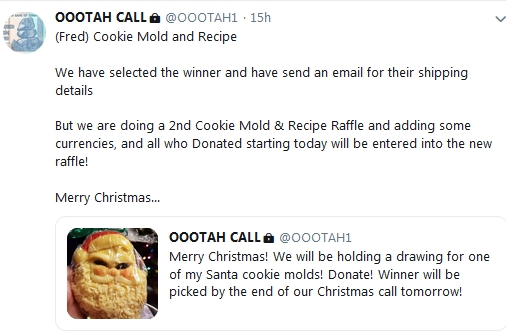 Becky McGee/Oootah Christmas Post Christmas Scam-A-Thon!  12/25/18 2018-791