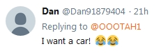 Becky McGee/Oootah is Giving Away a Car???  12/26/18  2018-804