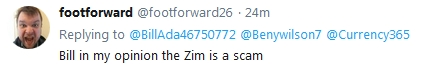~Breaking~ FootForward Says Zim is a SCAM!!!  12/28/18 2018-820