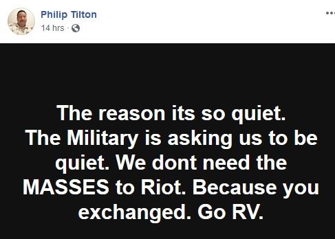 Philip Tilton - Is this the WEEK???   12/31/18 2018-839