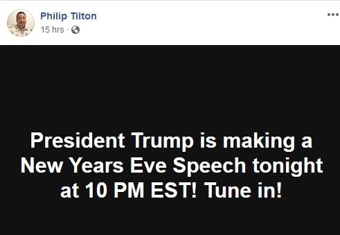 Philip Tilton Makes a FOOL of HIMSELF - Again!  12/31/18 2019-021