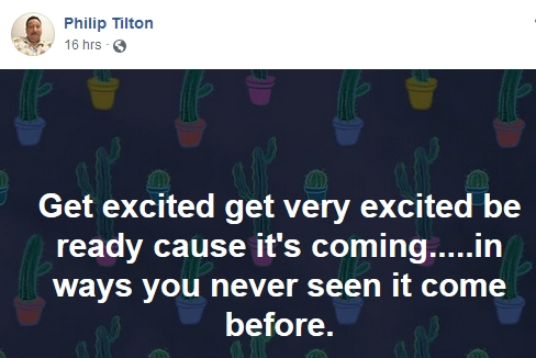Philip Tilton - The Money was Liberated Today!  1/15/19 2019-094
