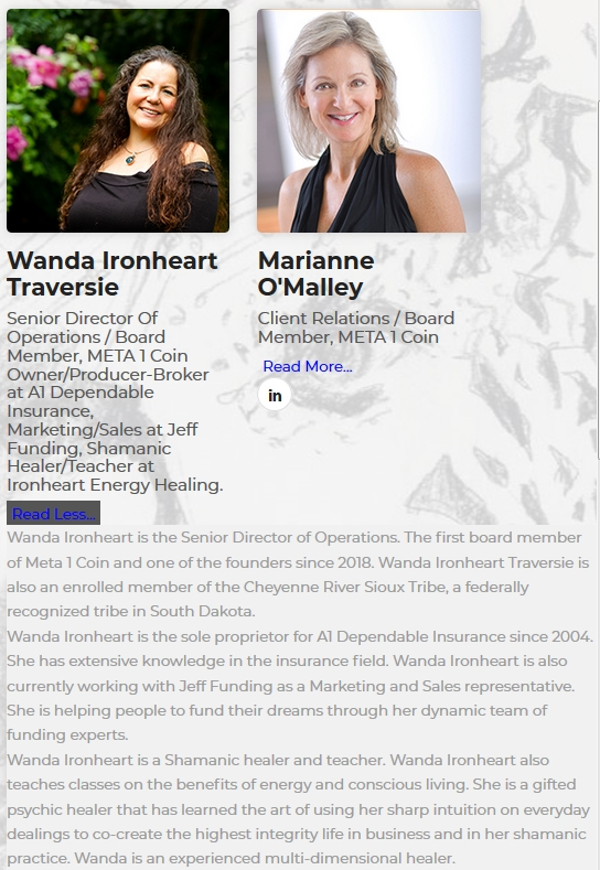 "Meta1 Scammer ""Wanda"" - odd her real last name is Burnham and she ""runs"" an insurance co. 2019-173"