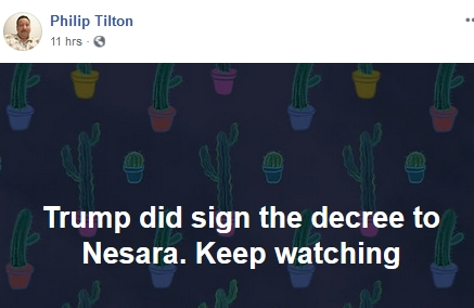 Philip Tilton - Trump Signed Nesara!  2/3/19 2019-202