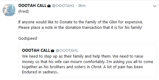 Becky McGee/Oootah - Tries to Profit Off Pastor Glenn's Death!!!  2/3/19 2019-218