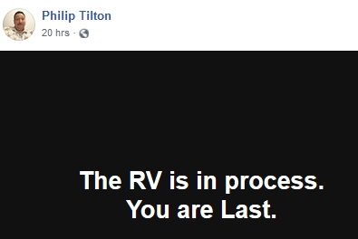 Philip Tilton - The RV is in Process!  2/6/19 2019-223