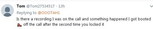 "Becky McGee/Oootah ""My Last Call""  LOL  2/21/19 2019-301"