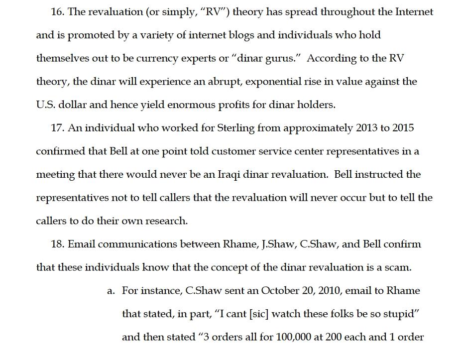 """F.B.I. vs anyone using """"RV"""" claims 2019-407"""
