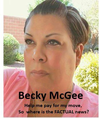 Becky McGee/Oootah Wants YOUR Money & YOUR Email!  10/17/18 Becky411