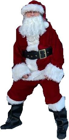 Is Santa Really AdminBill???  12/22/18 Santa110