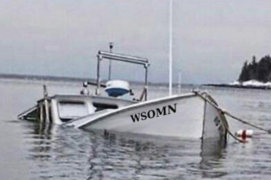 AdminBill - Help Me!  WSOMN is Sinking!   2/21/19 Sink15