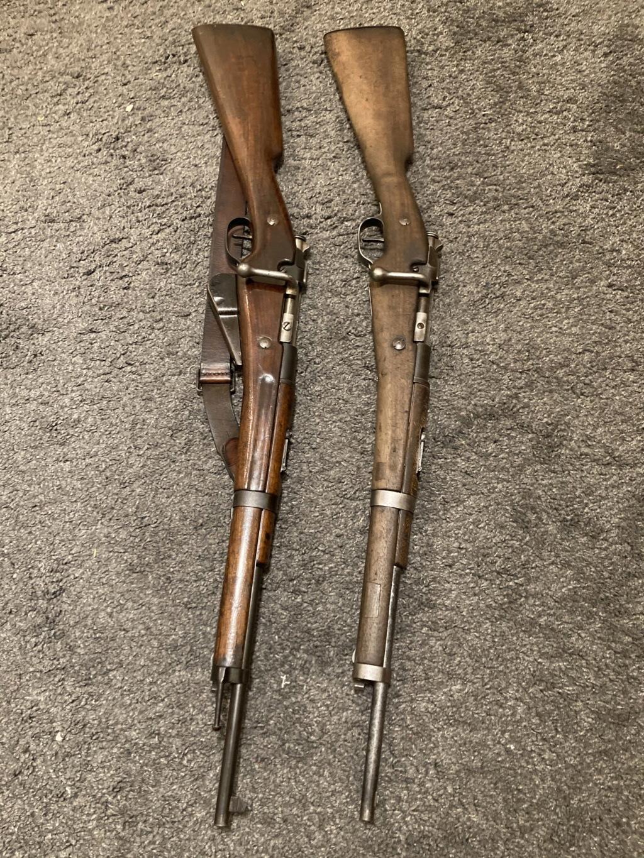 Mon mousqueton 1892 M16 Lapair10