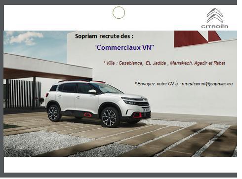 شركة SOPRIAM المتخصصة في تسويق و توزيع سيارات بيجو ستروين توظيف في عدة مناصب 113