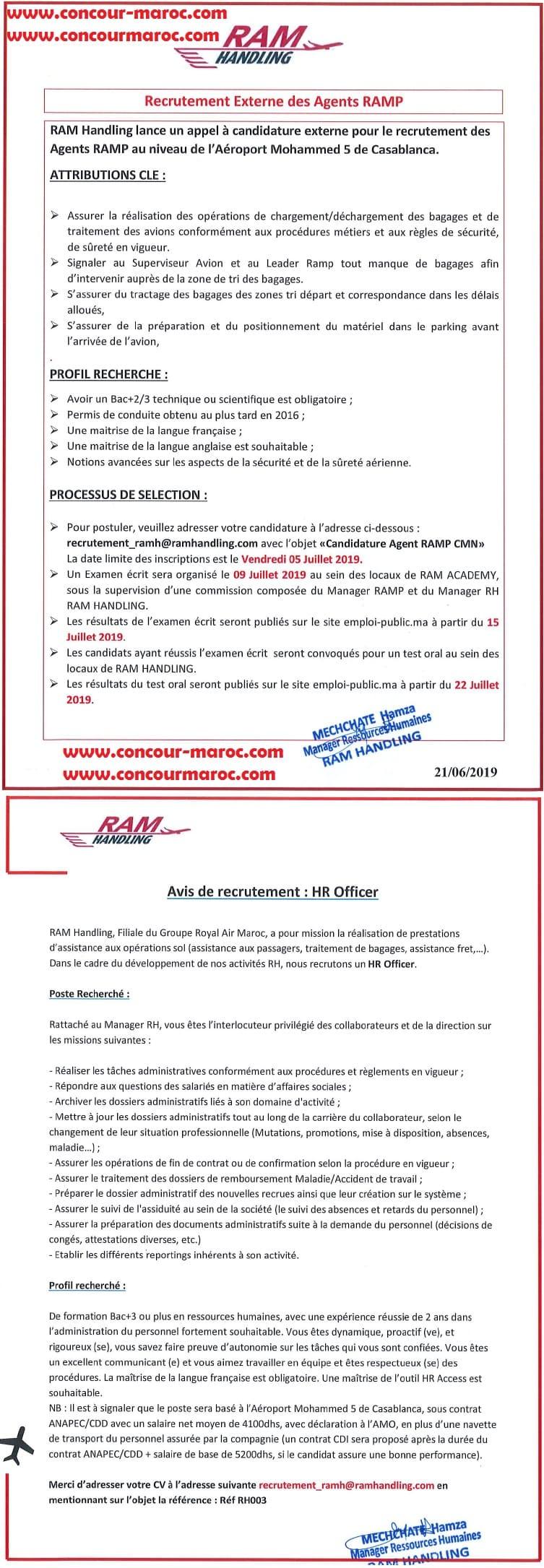 شركة رام هندلينغ فرع الخطوط الملكية المغربية : مباراة لتوظيف 14 عون المناولة الأرضية و 02 موظف الموارد البشرية قبل 5 يوليوز 2019 A_acao10