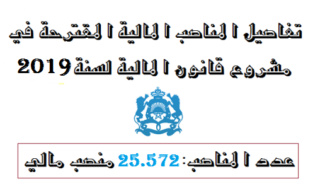 إحداث 25.572 منصبا ماليا برسم الميزانية العامة للسنة المالية 2019 Aiyo_a11