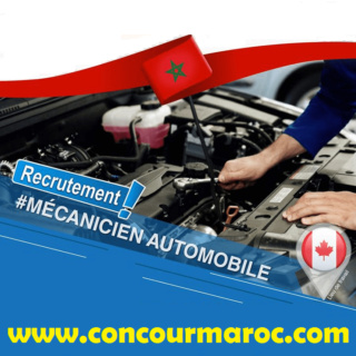 شركة بكندا توظيف 08 مناصب للحاصلين على دبلوم مكانيك السيارات و هياكل السيارات اخر اجل 06 شتنبر 2019 Canada10