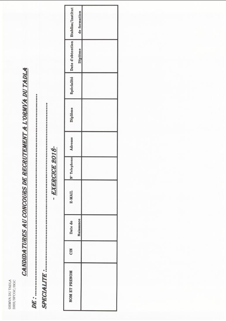 المكتب الجهوي للاستثمار الفلاحي لتادلة : مباراة لتوظيف تقني متخصص سلم 9 آخر أجل 31 اكتوبر 2018  Cond10