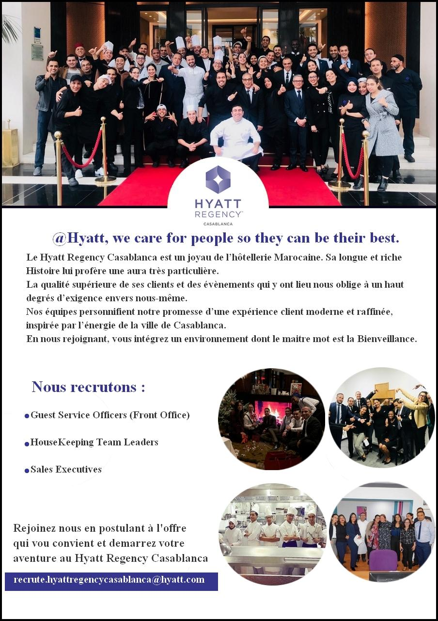 عدة فنادق مصنفة و فاخرة بالمغرب فرص شغل عديدة و متنوعة و جديدة معلنة هذا الشهر فبراير 2020 Hay11